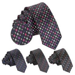 Mini Diamond Geometric Handkerchief