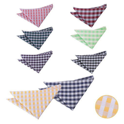 Gingham Check Handkerchief