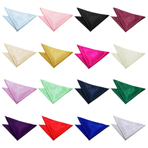Plain Satin Handkerchief