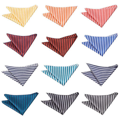 Thin Stripe Handkerchief