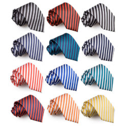 Thin Stripe Classic Tie