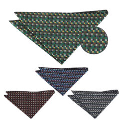 Mini Diamond Geometric Handkerchief
