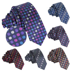 Chequered Polka Dot Classic Tie