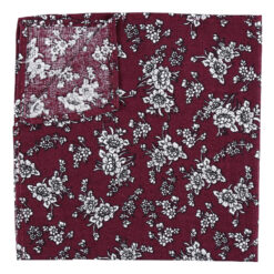 Floral Daphne Pocket Square