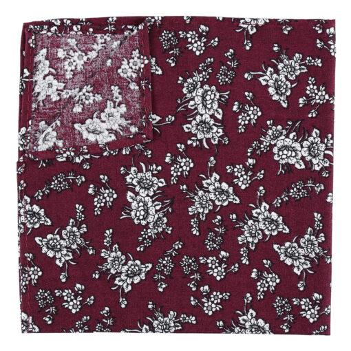 Floral Daphne Pocket Square