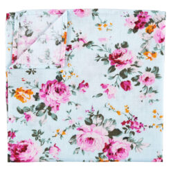Floral Primrose Pocket Square