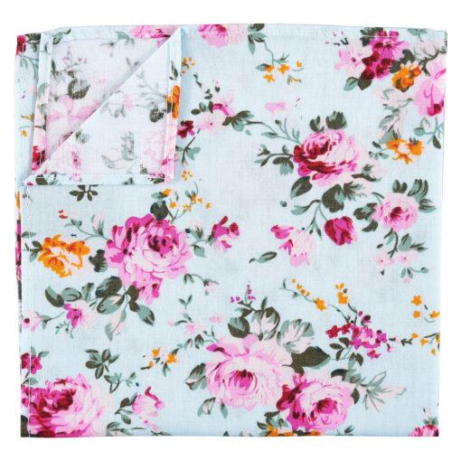 Floral Primrose Pocket Square