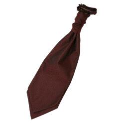 Greek Key Pre-Tied Ruche Cravat