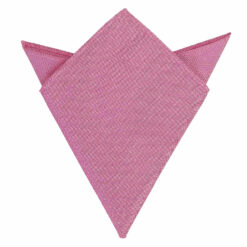 Chambray Cotton Pocket Square