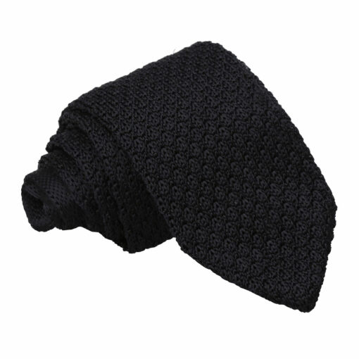 Grenadine Knitted Silk Slim Tie