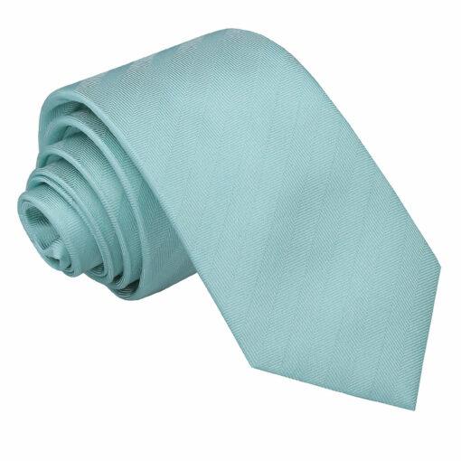 Herringbone Silk Slim Tie