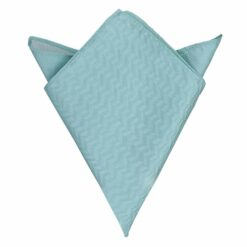 Herringbone Silk Pocket Square