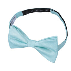 Herringbone Silk Thistle Pre-Tied Bow Tie