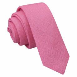Hopsack Linen Skinny Tie