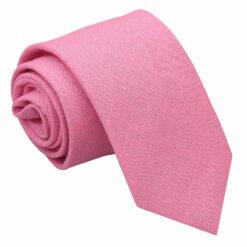 Hopsack Linen Slim Tie