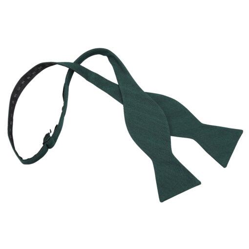 Ottoman Wool Thistle Self Tie Bow Tie