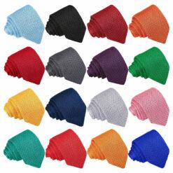 Plain Knitted Handkerchief