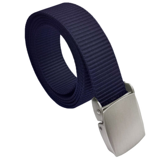 Canvas Buckle Belt One Size