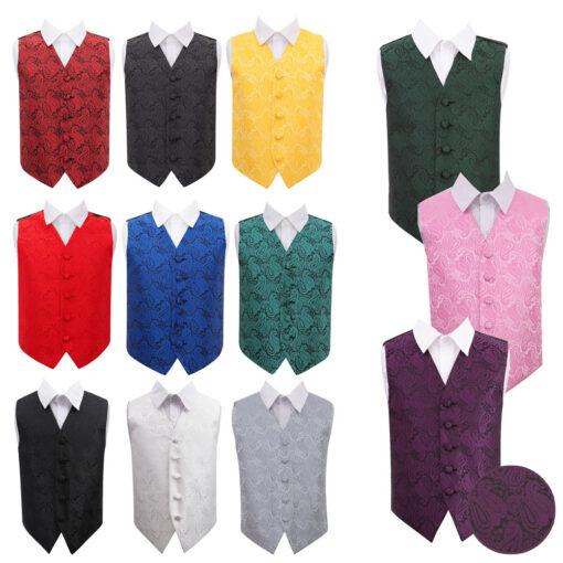 Paisley Waistcoat - Boys
