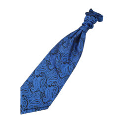 Paisley Pre-Tied Ruche Cravat