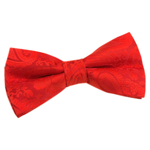 Paisley Pre-Tied Bow Tie