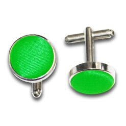 Plain Satin Cufflinks
