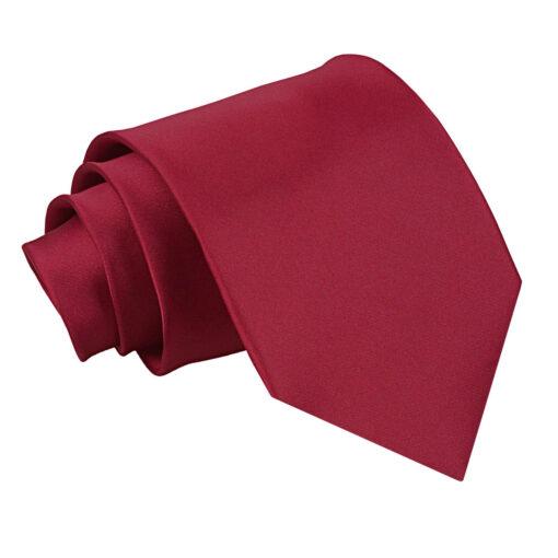 Plain Satin Classic Tie