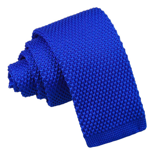 Plain Knitted Tie - Boys