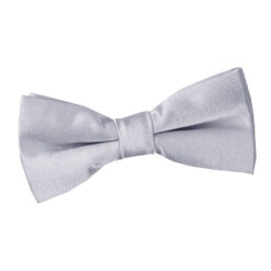 Plain Satin Pre-Tied Bow Tie - Boys