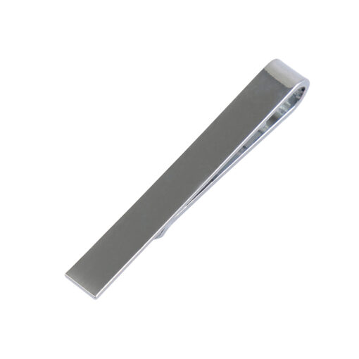 Plain Metal Tie Clip