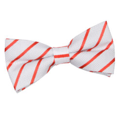 Single Stripe Pre-Tied Bow Tie