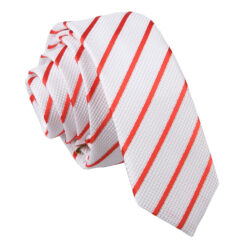Single Stripe Skinny Tie
