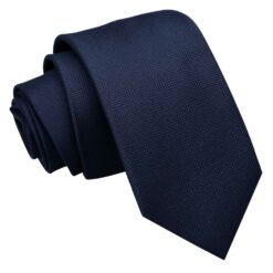 Solid Check Slim Tie