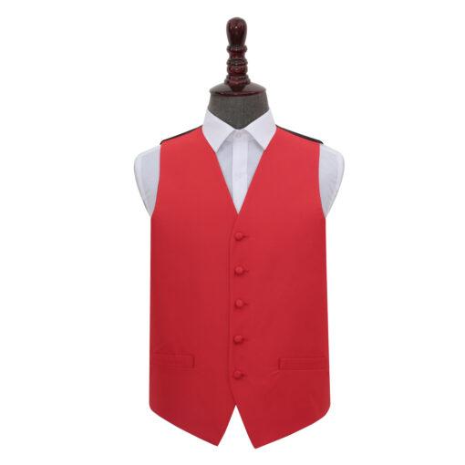 Solid Check Waistcoat