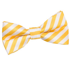 Thin Stripe Pre-Tied Bow Tie
